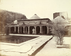General view of the Jami Masjid, Siddhapur
